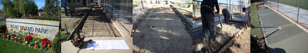 Bernardo Concrete Concrete Sidewalks Installation project