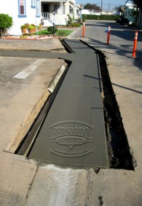 Concrete Construction Project in Garden Grove, California