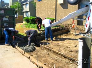 santa ana concrete construction