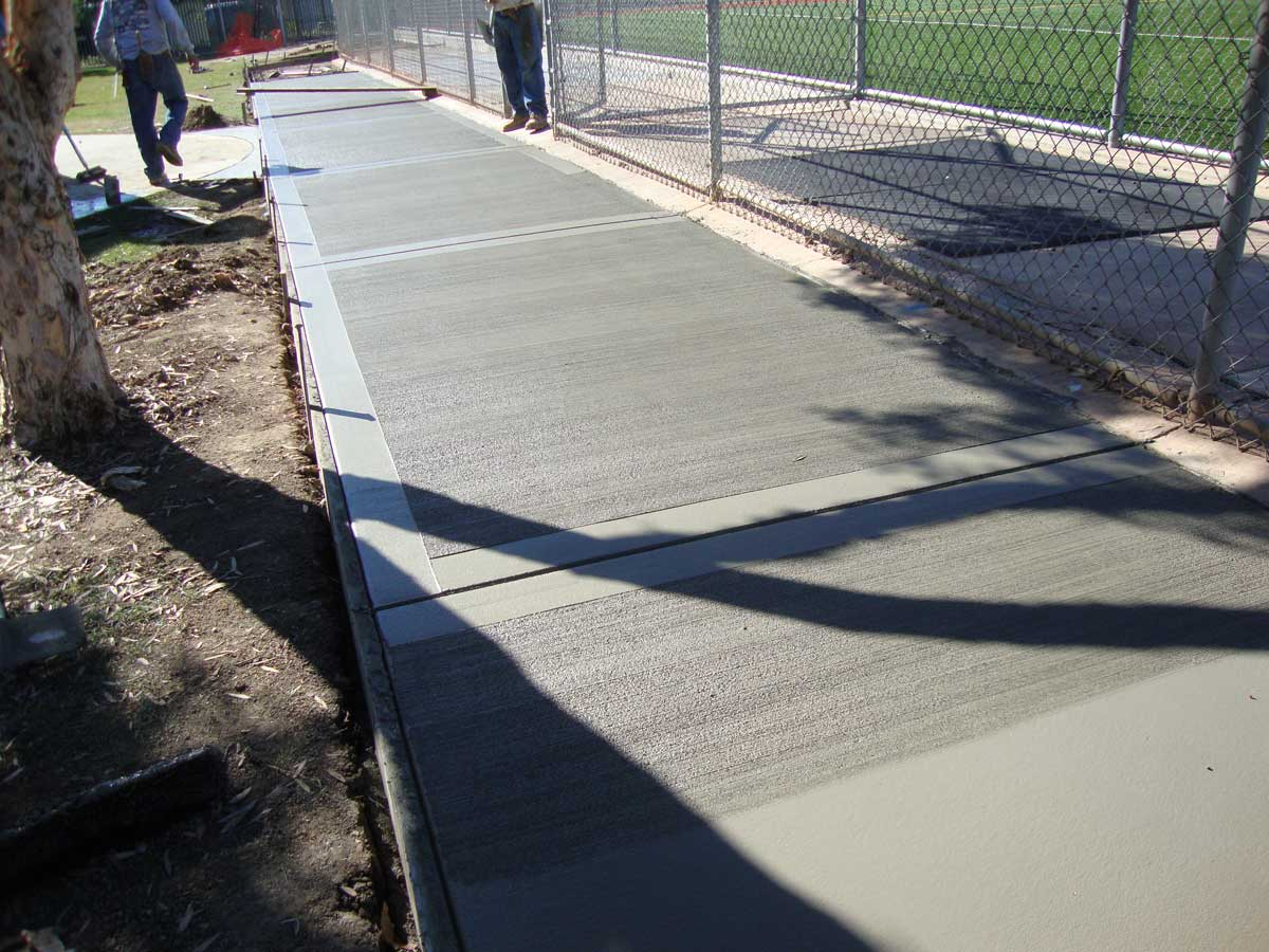 Sidewalk Repair & Installation – Concrete Contractors